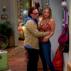 While wanting to be alone, Sheldon knocks at the door.