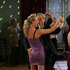 Penny dancing.
