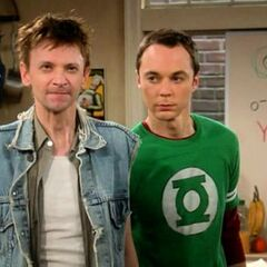 Meeting Sheldon's fake cousin.