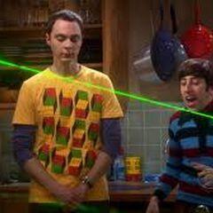 Sheldon is not impressed.