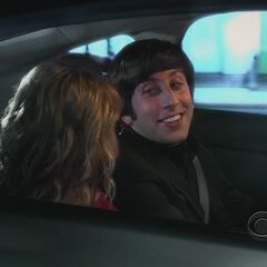 Howard meets Bernadette.
