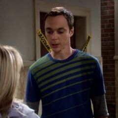 Sheldon apologizes to Penny.
