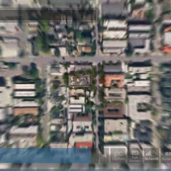 Lenard's neighborhood from Google Earth at the time of the wedding.