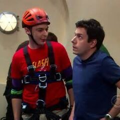 Sheldon trying to be friends with Kripke.