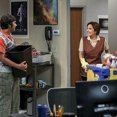 Raj meets Isabella.