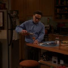 Leonard doing something for Penny.
