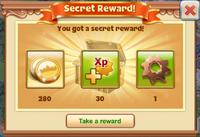Secret Reward Sample