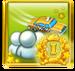On Baedeker's Trail Achievement Icon Gold I