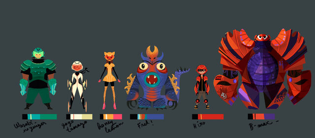 File:Big Hero 6 Team Early concept.jpg