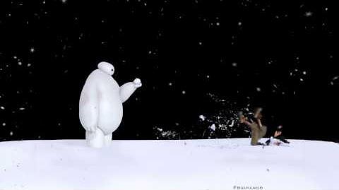 Baymax vs. Snowball