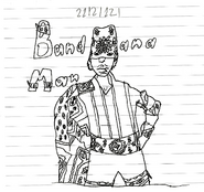 Bandana man drawing