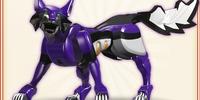 Purple-Violet Wolf Sprits
