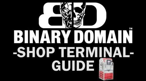 Binary Domain - All Shopping Terminal Locations