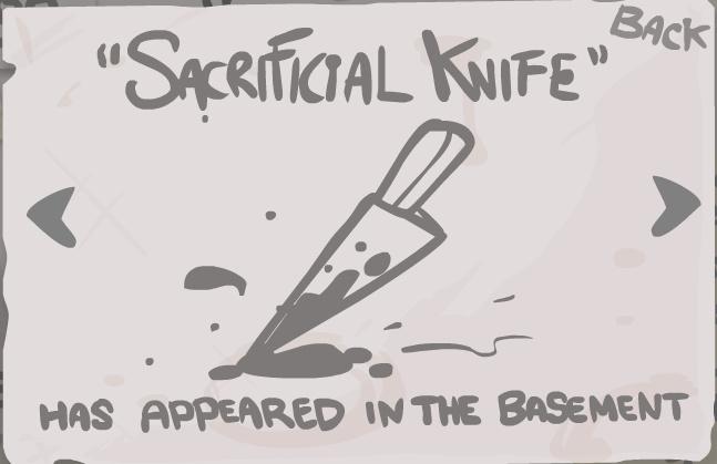 Sacrificial Knife