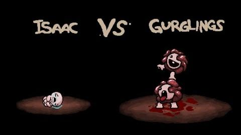 "The Binding of Isaac Rebirth ""Gurglings"" boss fight"