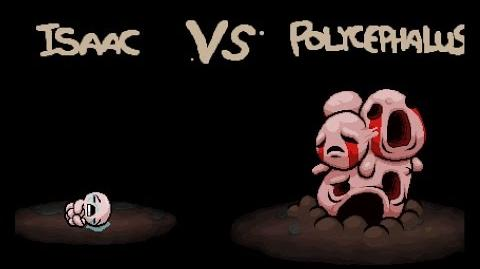 "The Binding of Isaac Rebirth ""Polycephalus"" boss fight"