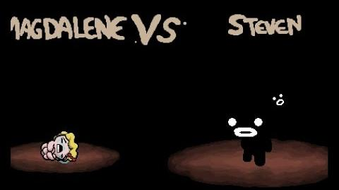 "The Binding of Isaac Rebirth ""Steven"" boss fight"