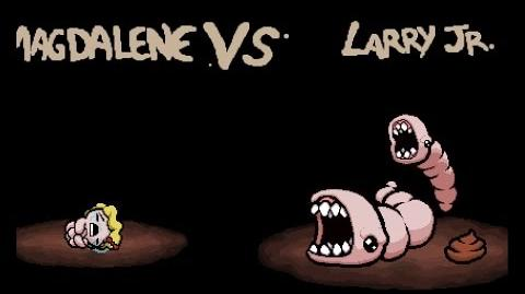 "The Binding of Isaac Rebirth ""Larry Jr"" boss"