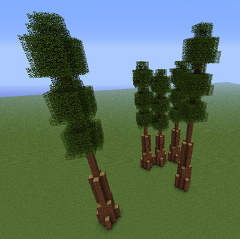 how to make trees grow instantly in minecraft