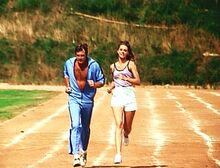 The Return of the Bionic Woman - Steve and Jaime running