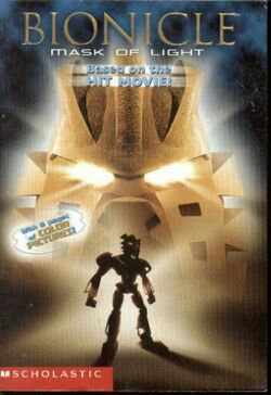 Bionicle Mask of Light book