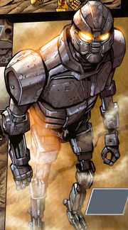 Comic Prototype Robot