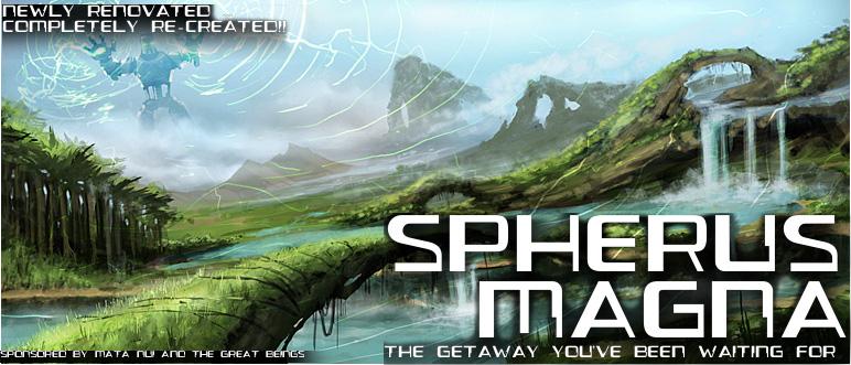 Spherus Magna Travel Poster
