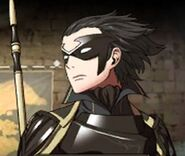 Keps is Gerome, though I doubt he's ugly underneath his mask like this guy is.