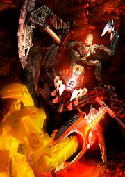 Concept art Bionicle Heroes