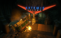 Artemis Suites Entrance