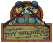 Toy Soldiers sign