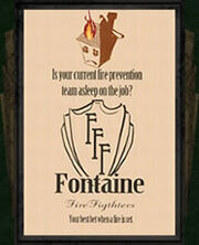 Ad fontaine firefighters