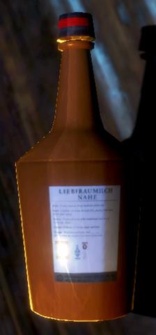 File:Red Ribbon Brandy back of bottle..png