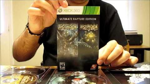 BioShock Ultimate Rapture Edition Unboxing