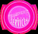 Chomper's Dental texture mask sign