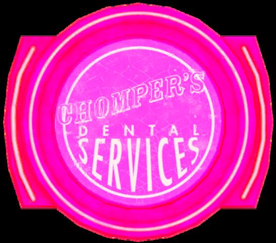 File:Chomper's Dental texture mask sign.png