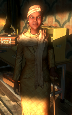 BioShock 2-Grace Holloway encountered in Pauper's Drop f0373.png