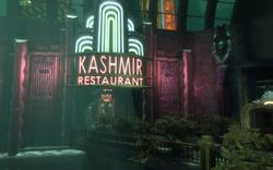 Kashmir Restaurant Entrance