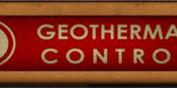 Geothermal Control
