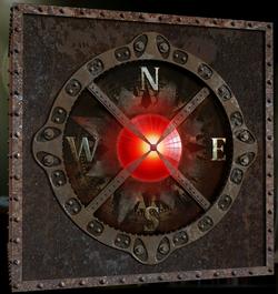 Puzzle compass