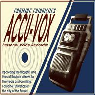 Pristine Accu-Vox Personal Voice Recorder Poster