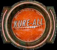 Kure-All logo.