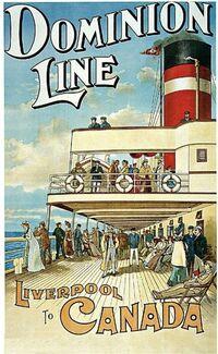 Dominion Line Cruises Advertisement