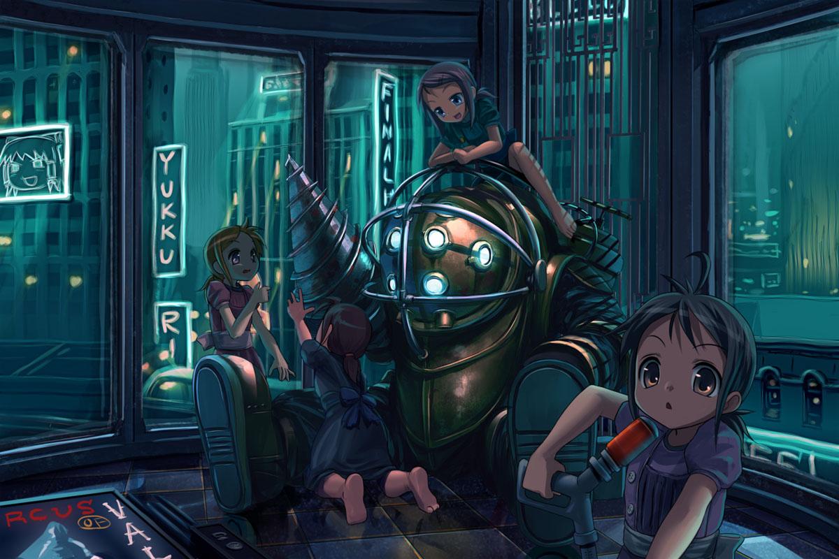 User blog ilovetenenbaum123 bioshock anime bioshock - Bioshock wikia ...