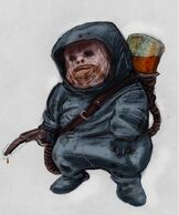 Early Humanoid Gatherer Concept 1