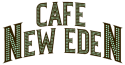 Cafe New Eden Sign