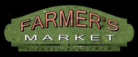 Farmer's Market Entrance