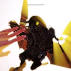 El Songbird en modo neutral (ojo amarillo)