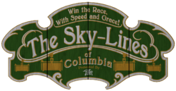 Sky Line Fairgrounds sign