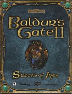 File:Baldur's Gate II - Shadows of Amn Coverart.png